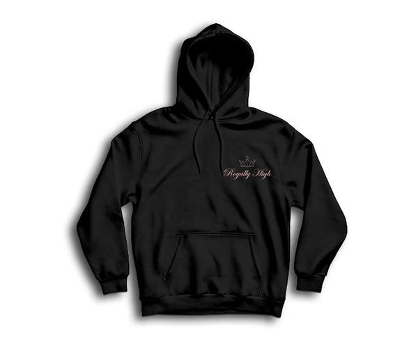 Royally High ladies casualwear black hoodie