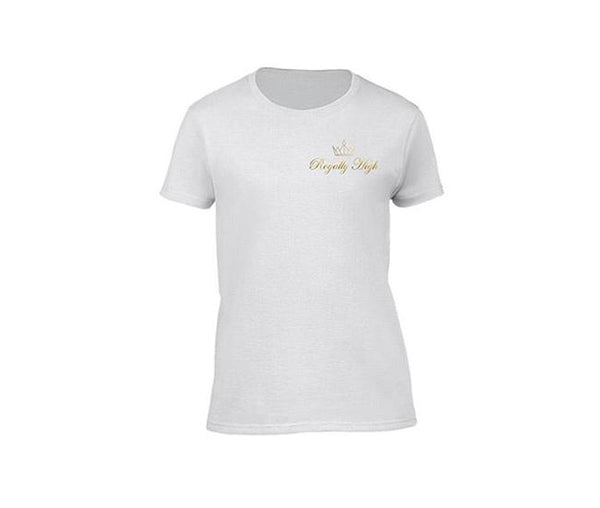casual white t-shirt for ladies