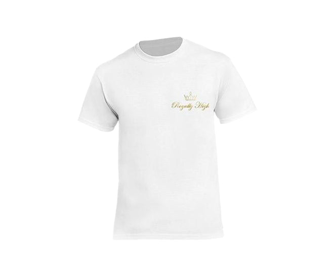 casual white t-shirt for men