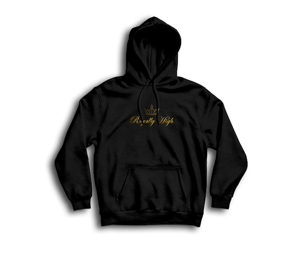 Royally High casualwear black hoodie