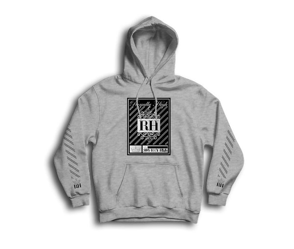 Heather Grey Streetwear Hoodie