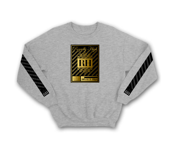 Heather Grey Streetwear Sweatshirt