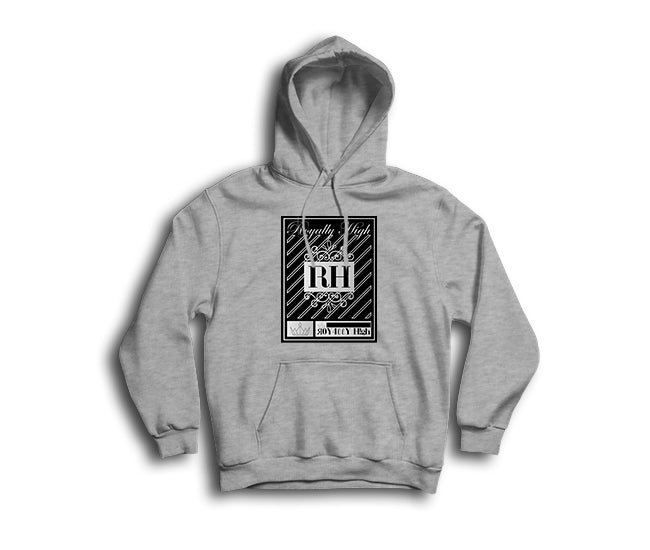 Royally High Heather Grey Hoodie