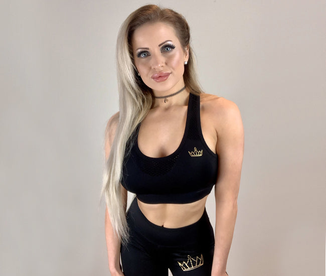 RH Gold Crown Seamless Sports Bra
