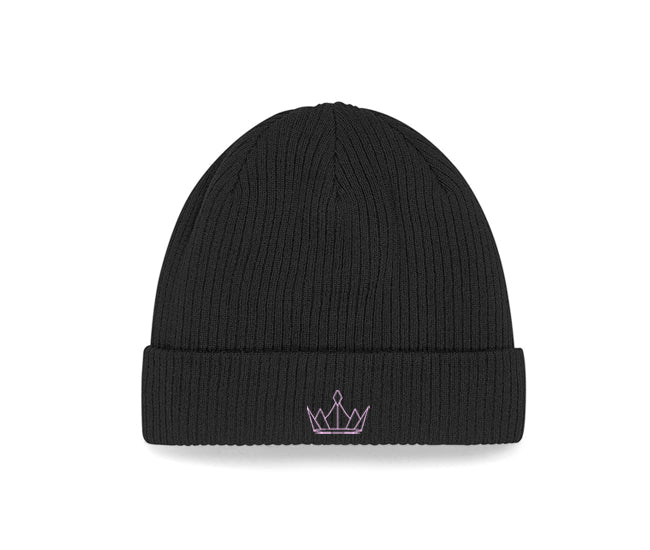 RH Small Pink Crown Beanie