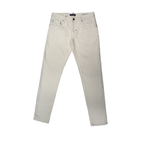 Jeans Liso, Blanco