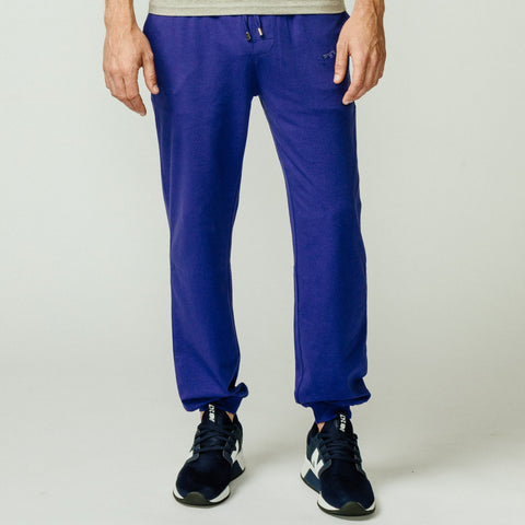 Pants Liso Slim, Azul