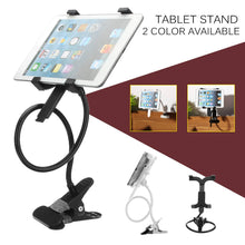 Load image into Gallery viewer, Universal 360 Rotating Tablet Stand Bed Desk Mount Holder Clamp For 7 Inch 10 Inch Tablet Bracket Tools Tablet Accessories