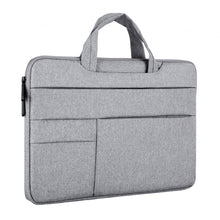 Load image into Gallery viewer, For MacBook Pro 16 Inch Multi-function Laptop Bag Notebook Pouch Protective Dustproof Portable Briefcase (QY-C015) 2019
