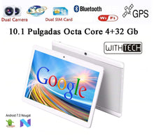 Load image into Gallery viewer, 10,1 Tablet WITHTECH , 3G, OCTA CORE, 4 hard GB RAM DUAL SIM