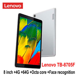 Lenovo smart tablet TB 8705F/N 8 inch 3G/4G RAM 32G/64G ROM Octa Core WiFi /LTE version 5100mAh face recognition FHD IPS dolby