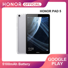 "Load image into Gallery viewer, Google Play Huawei Honor Pad 5 8""32GB/64GB Tablet Android 9 5100mAh Battery Kirin 710 Octa Core1200x1920 FHD IPS OTG Kids Tablet"