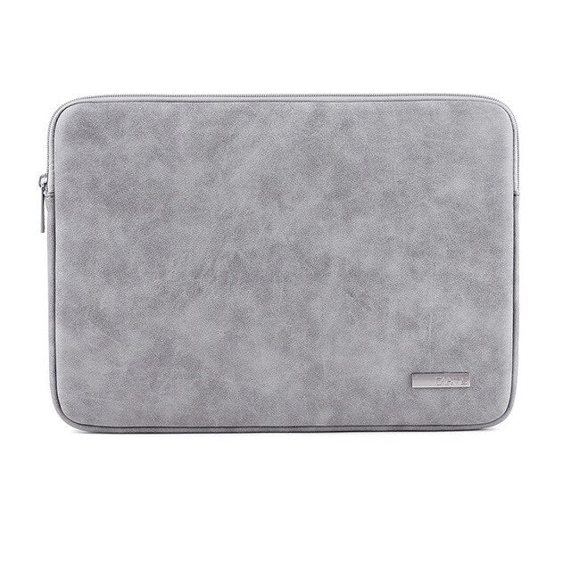 Soft PU Leather Sleeve 13.3 15 Waterproof Pouch Laptop Bag For Macbook Air 13 Pro Retina 14 15.6 inch Asus Notebooks Case Cover