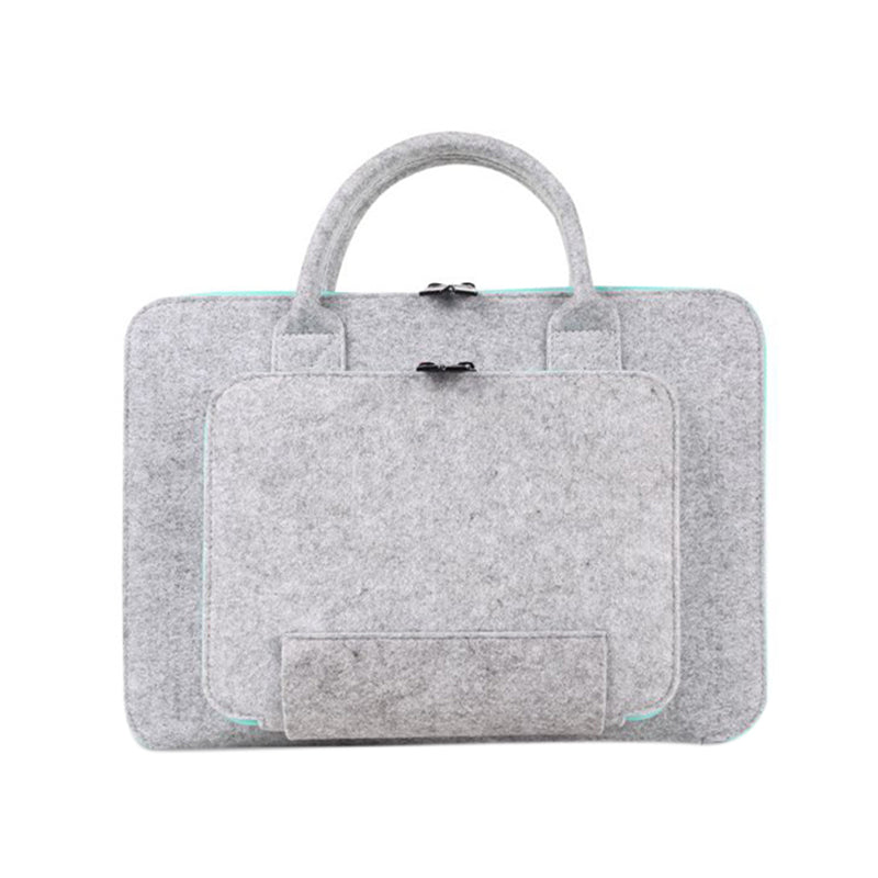 13 15.6 17 Inch Super Light Wool Felt Laptop Bag For Macbook Lenovo Dell Hp Asus Computer Bag Notebook Case