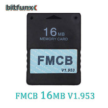 Load image into Gallery viewer, Bitfunx v1.953 FMCB Free McBoot Card for Sony PS2 Playstation2 8MB/16MB/32MB/64MB Memory Card