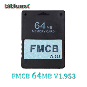 Bitfunx v1.953 FMCB Free McBoot Card for Sony PS2 Playstation2 8MB/16MB/32MB/64MB Memory Card