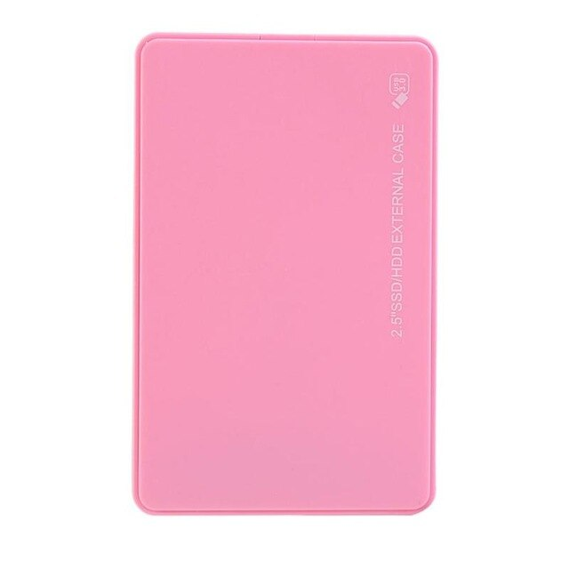 Protable 2.5 inch USB3.0 HDD Case SATA to USB 3.0 External Hard Drive Disk Enclosure 5Gbps SSD Hard Disk Case HDD Box Enclosure