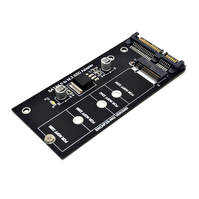 M2 NGFF ssd SATA3 SSDs Turn Sata Adapter Expansion Card Adapter SATA to NGFF High-capacity High-power Connectors for Computer PC