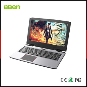 BBEN G16 15.6'' Laptop Windows 10 Nvidia GTX1060 GDDR5 Intel i7 7700HQ 16GB RAM M.2 SSD IPS RGB Backlit Keyboard Gaming Computer