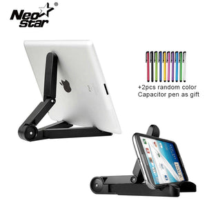 NEO STAR For Ipad Stand For Android Tablet 10.1 Accessories Universal Stand For Mobile Phone Holder With 2 Stylus Pen
