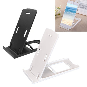 Foldable Portable Office Durable Tablet Stand Easy Use Mount Holder Accessories Adjustable Angle Home Rectangle Shape Desk