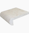 "Shell Stone Limestone 12"" x 12"" Remodeling Pool Coping"