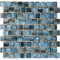 Aspen Blue 1x1 Porcelain Waterline Pool Tile