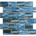 "Aspen Blue 2"" x 3"" Porcelain Waterline Pool Tile"