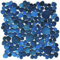 Jade Blue Pebble Stone Matte Porcelain Pool Tile | Shower | Beach Entry | Spa | Backsplash