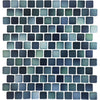 Teal Green Glazed 1x1 Porcelain Pool Tile