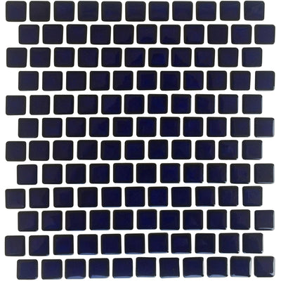 Royal Blue Glazed 1x1 Porcelain Pool Tile