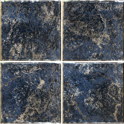 PATINA-6 TAHOE BLUE 6X6 POOL TILE