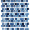 Sea Blue Glazed 1x1 Porcelain Pool Tile