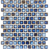 Terra Blue Glazed 1x1 Porcelain Pool Tile