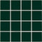 "Hunter Green 3"" x 3"" Glossy Porcelain Waterline Pool Tile"