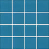"Sky Blue 3"" x 3"" Glossy Porcelain Waterline Pool Tile"
