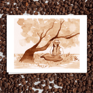 'Anne With An E' Coffee Art Painting