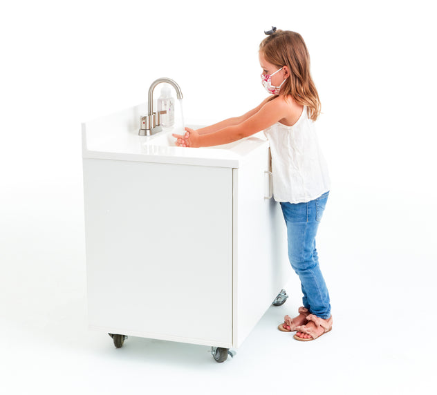 Heated Portable Sink - Child Height