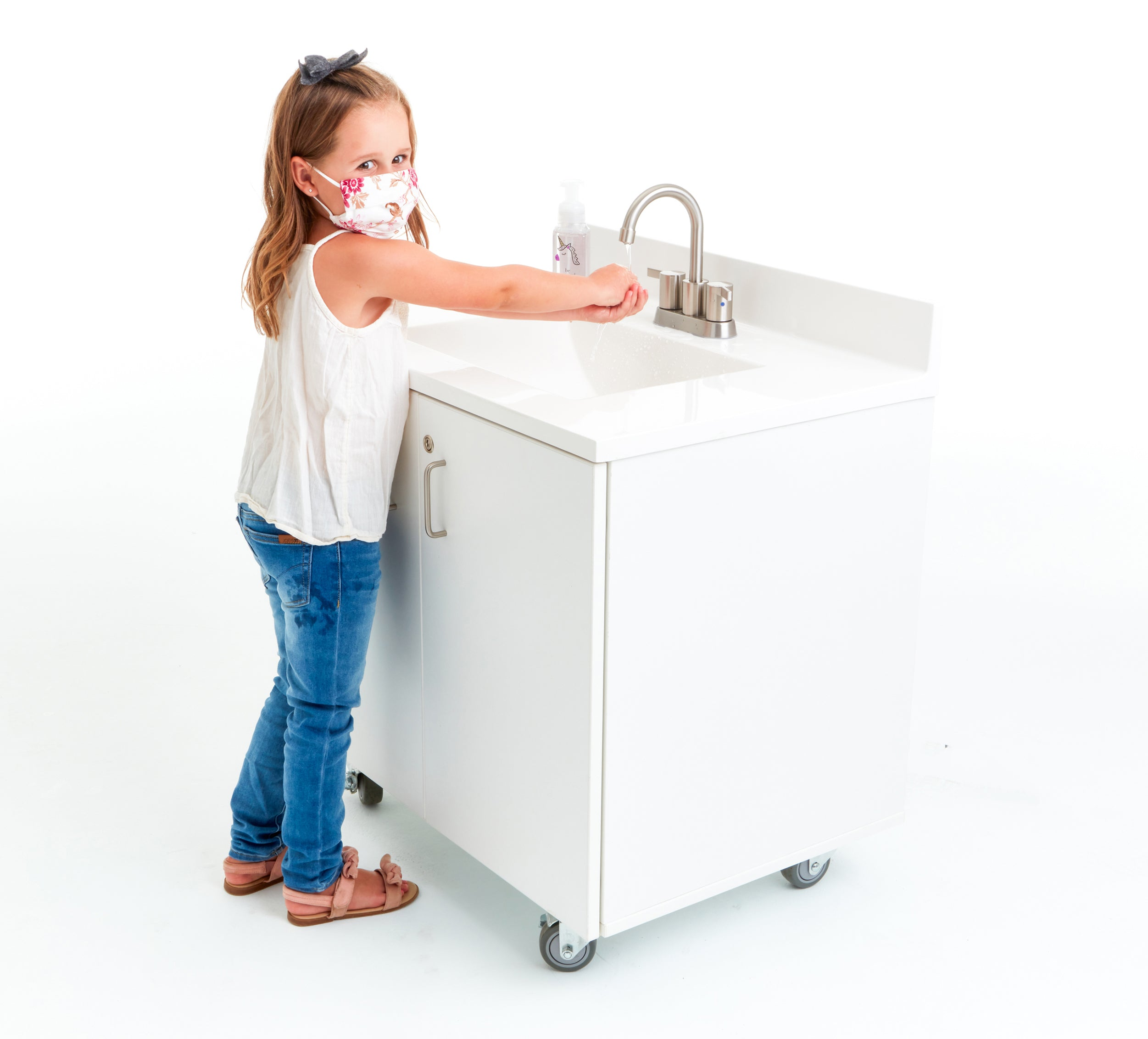 Portable Handwashing Stations - Child Height