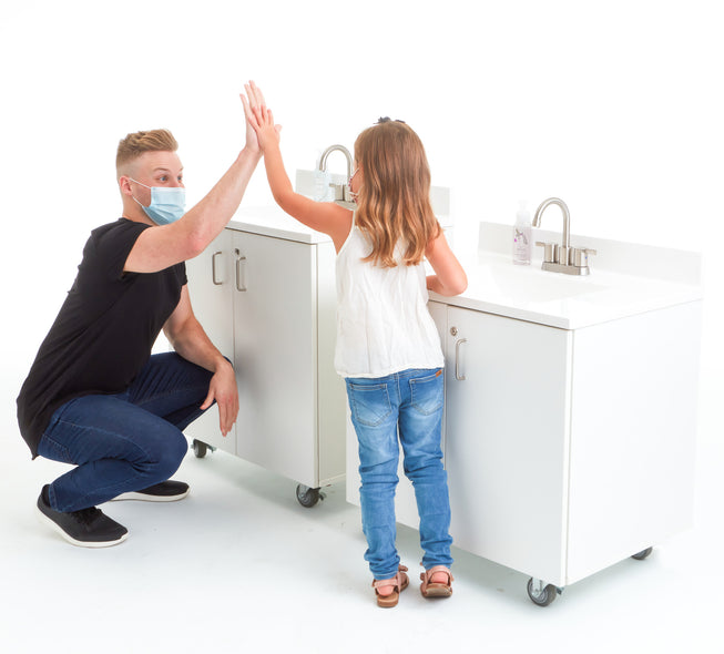 Portable Sink - Child Height
