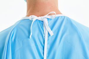 back-of-neck-tie-on-reusable-level-2-blue-gown