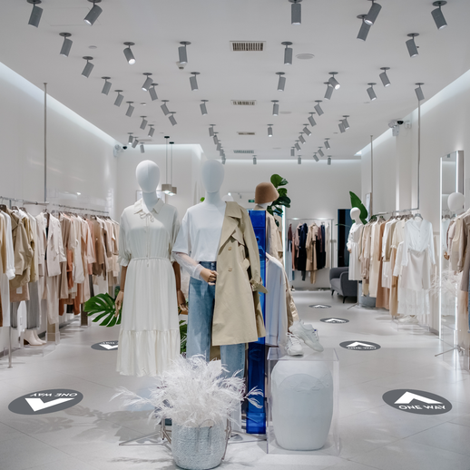 grey-one-way-floor-decals-through-retail-space