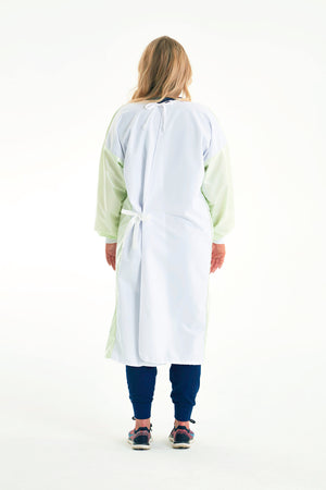 Reusable Non-Surgical Gown - Light Green