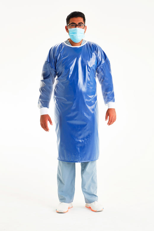 Reusable Non-Surgical Gown - Royal Blue