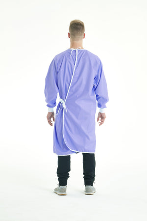 Reusable Level 2 Gown - Periwinkle
