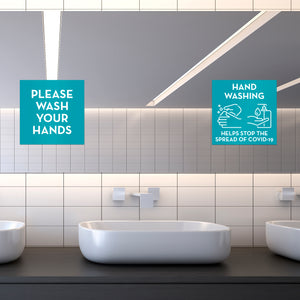 handwashing-mirror-decals-on-mirror-in-bathroom