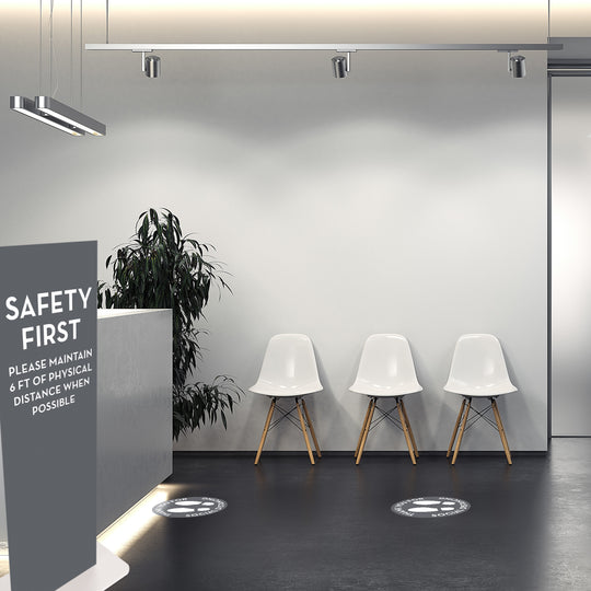 safety-first-popup-display-in-medical-office-lobby