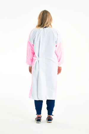 Reusable Non-Surgical Gown - Light Pink