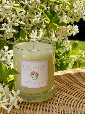 hera botanicals mother's bouquet candle