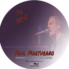 Load image into Gallery viewer, Best Of Paul Marturano 2000-2020 Volume 1